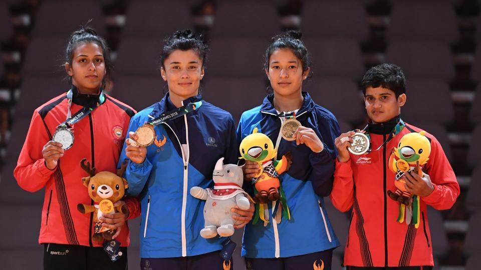 Asian Games 2018,Pincky Balhara,Malaprabha Jadhav