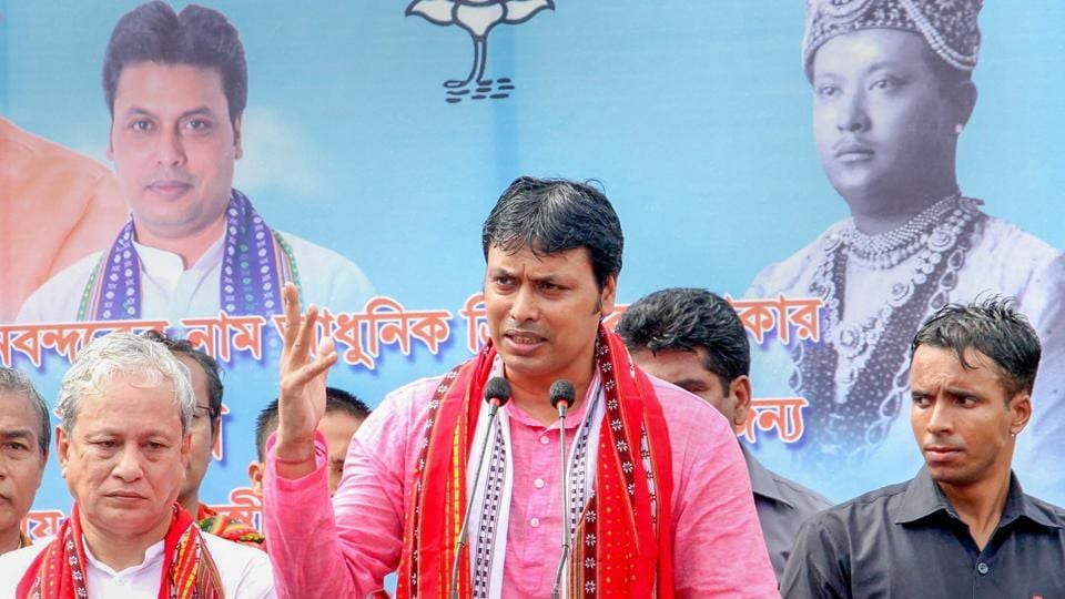 "Addressing a gathering during a traditional boat race programme held at Rudrasagar Lake on Monday evening, Biplab Kumar Deb said the aquatic birds recycle water when they swim – raising the oxygen level in water bodies. ""This rise in oxygen, in turn, makes the fish population increase,"" he claimed, promising to distribute 50,000 white ducklings among fishermen residing in the area. (PTI File)"