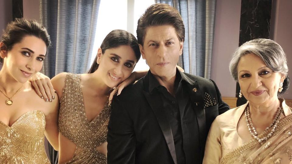 Shah Rukh Khan,Kareena Kapoor,Karisma Kapoor