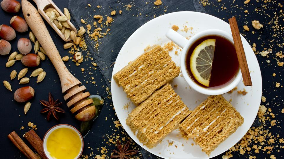Ginger is an antioxidant and antimicrobial and reduces feelings of nausea. You can brew ginger tea and add honey and spices like cardamom and star anise to it and sip the concoction through the day.  (Shutterstock)