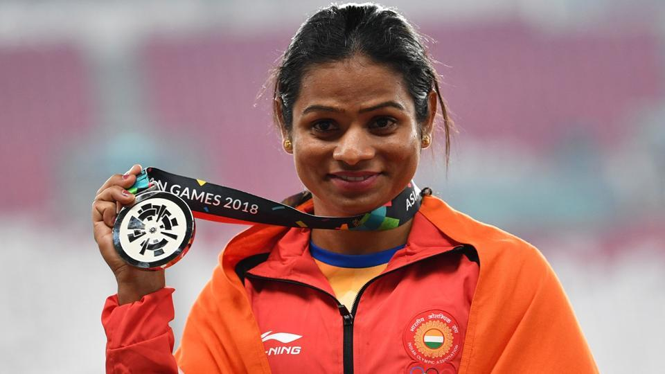 Asian Games 2018,Dutee Chand,Dutee Chand athletics