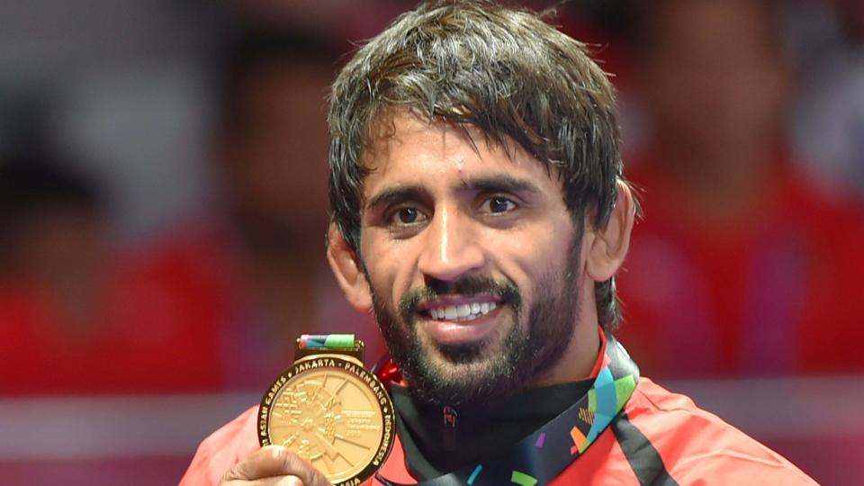 Bajrang Punia and Vinesh Phogat are in contention for the Rajiv Gandhi Khel Ratna award, the country's highest sporting honour, after notching up gold medals in this year's Commonwealth Games and the ongoing Asian Games 2018. (Shahbaz Khan / PTI File)