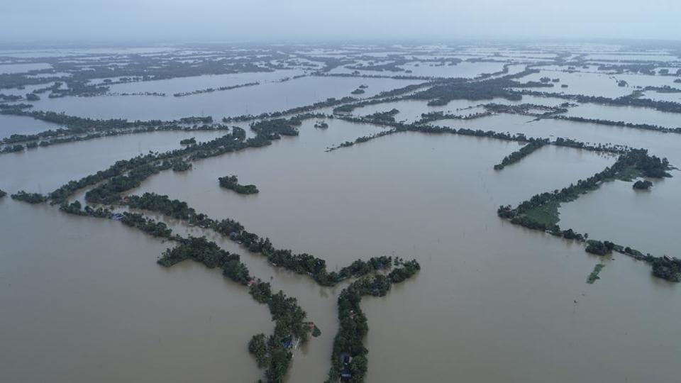 Kerala,Kerala Flood,Kerala floods damage