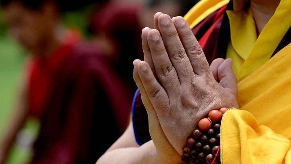 Buddhist monk,Bihar,Bihar Gaya