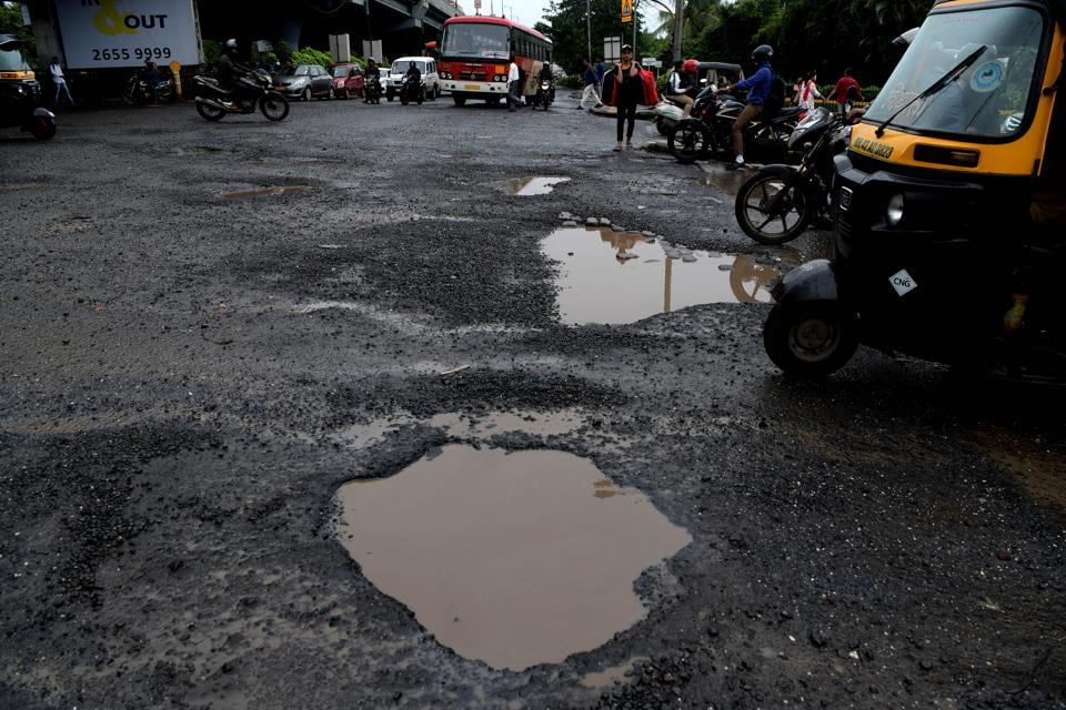 The Sion -Panvel highway has become a problem for the people during monsoon.