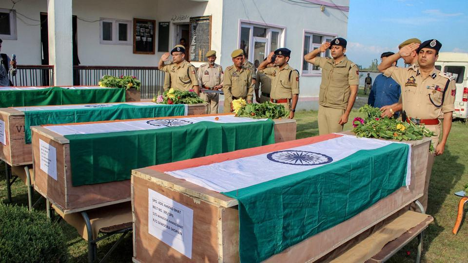 Hizbul Mujahideen (HM) commander Altaf Ahmed Dar's killing in Anantnag on Wednesday followed an attack in Shopian that left four policemen dead.