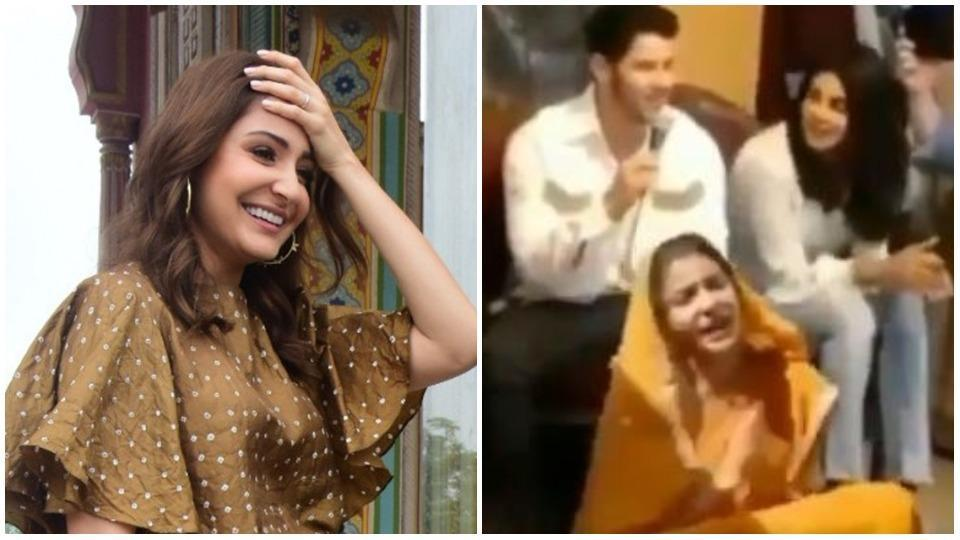Anushka Sharma would definitely be doing a facepalm after watching this video.