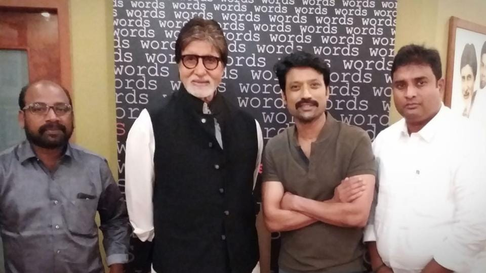 Amiabh Bachchan and SJSuryah to share screen space in Tamil film titled Uyarndha Manidhan.