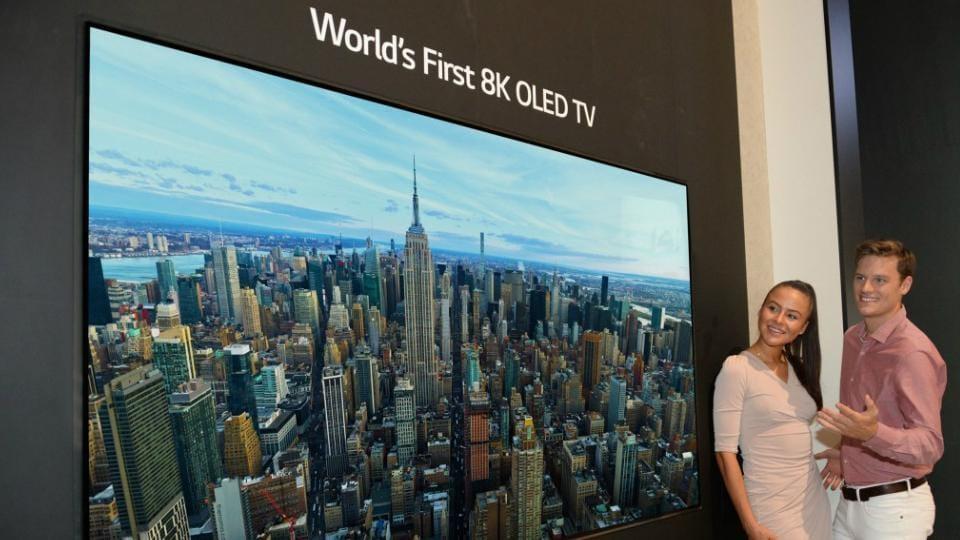 Samsung Announces 8K QLED TV