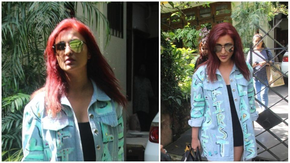 Parineeti Chopra after a salon session in Mumbai on Thursday.