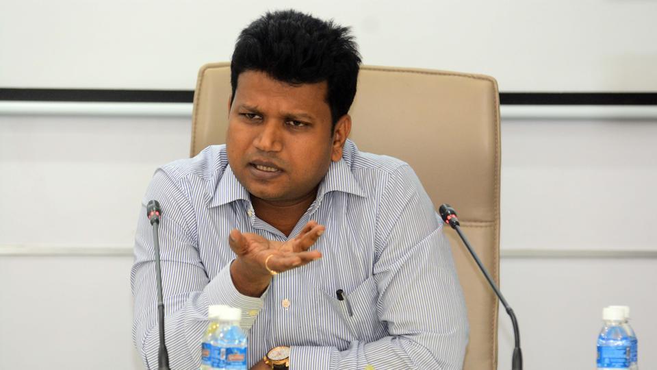 Naval Kishor Ram, district collector.