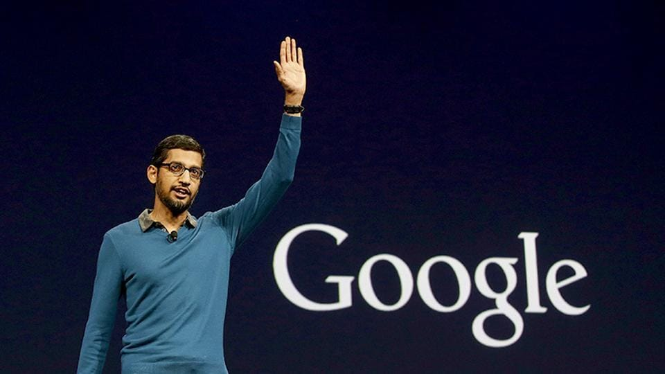Sundar Pichai, the CEO of Google.