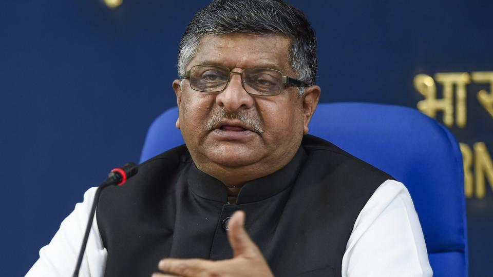 IT minister Ravi Shankar Prasad visited Google's headquarters in Mountain View, California on Wednesday, according to a statement from Google.