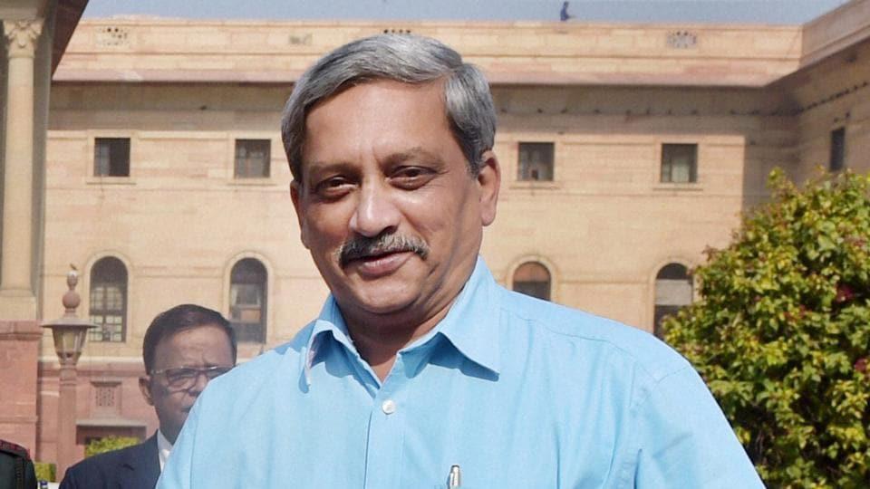 File photo of Goa chief minister Manohar Parrikar