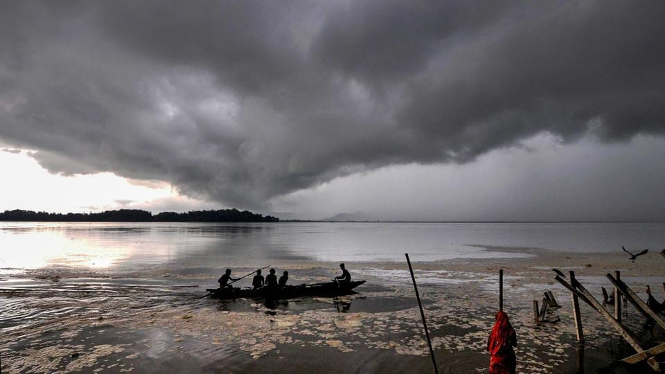 The Siang river, one of the contributories of the Brahmaputra, is seeing its highest  discharge in fifty years.