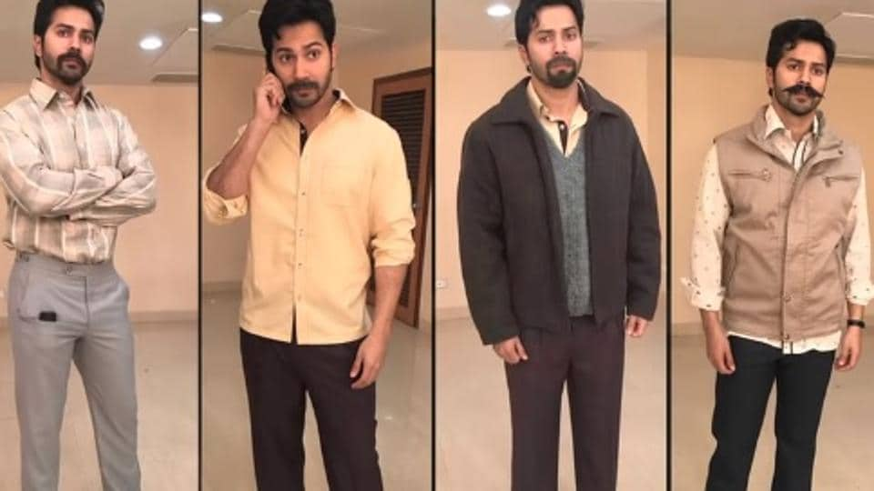 Varun Dhawan's transformation in Mauji for Sui Dhaaga  involved trying fake moustaches.