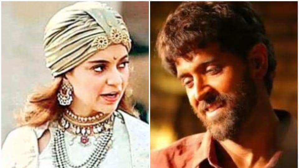 Kangana Ranaut's Manikarnika is a period drama while Hrithik Roshan's Super 30 is a biopic.