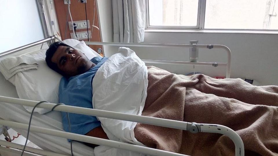 Nikhil Tambole is now stable at Jupiter Hospital.