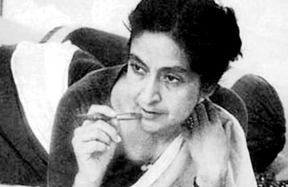 The first woman to win the National Sahitya Akademi Award and the first writer of Punjabi to win the Jnanpith award, she is a recipient of Padma Shri and Padma Vibhushan as well as several international honours. (HT File )