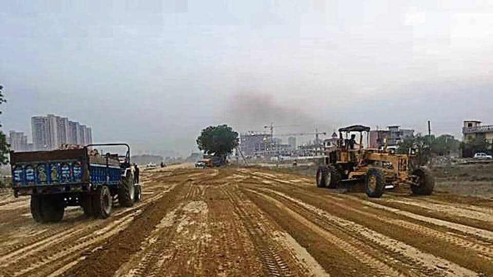 The expressway will connect Delhi with Kherki Daula.