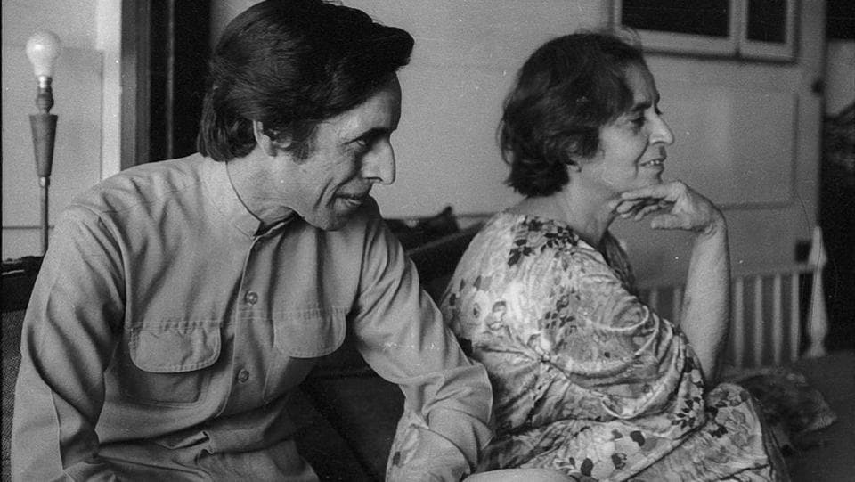 Trapped in a loveless marriage at a young age, Amrita Pritam dared to love – lyricist Sahir Ludhianvi at first, and artist Imroz later. While her first love remained unfulfilled, she spent the rest of her life living-in with a rather loving and caring Imroz. (HT File )