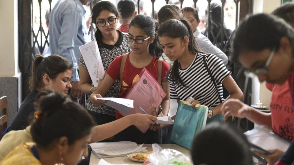 Delhi University,PG courses,Choice Based Credit System