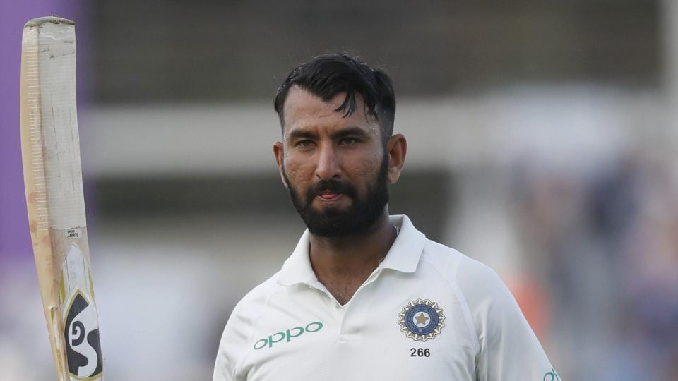 Cheteshwar Pujara Was The Undoubted Star Of Day As India Finished 2 Southampton Test On 273 All Out Taking A Lead 27 Got Good