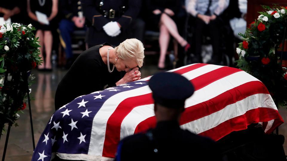John McCain,US Capitol,John McCain farewell
