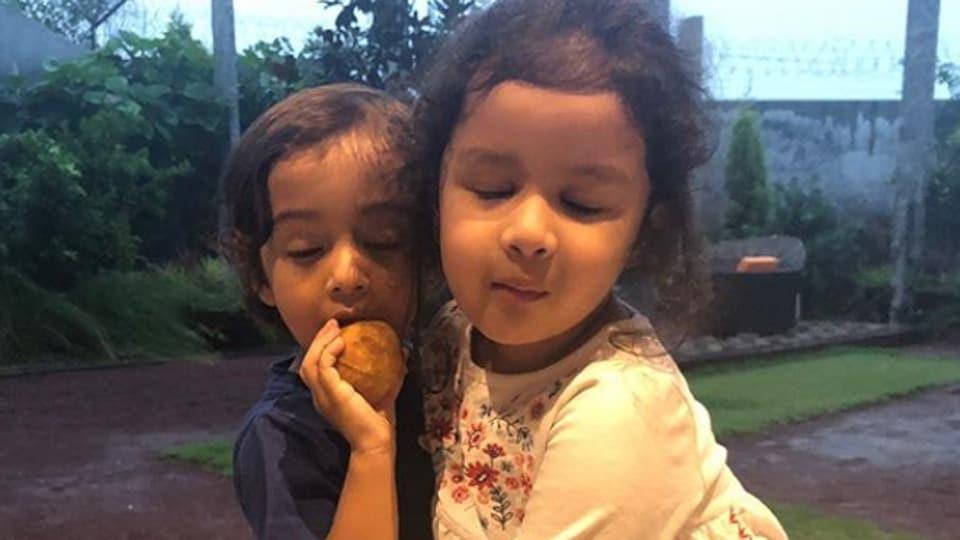 Ziva Dhoni and Ahil Sharma are 'pure joy and innocence'.