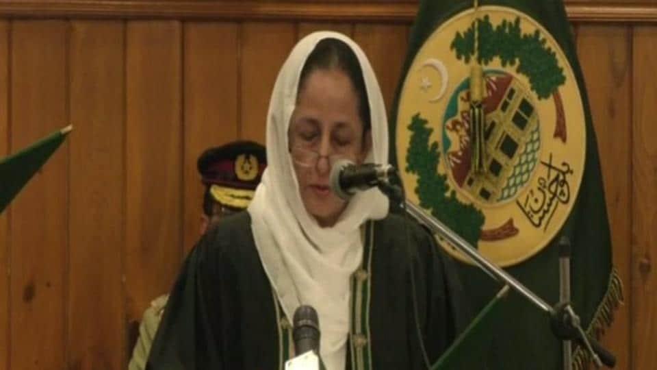 High Court,Pakistan,Pakistan gets 1st woman Chief Justice