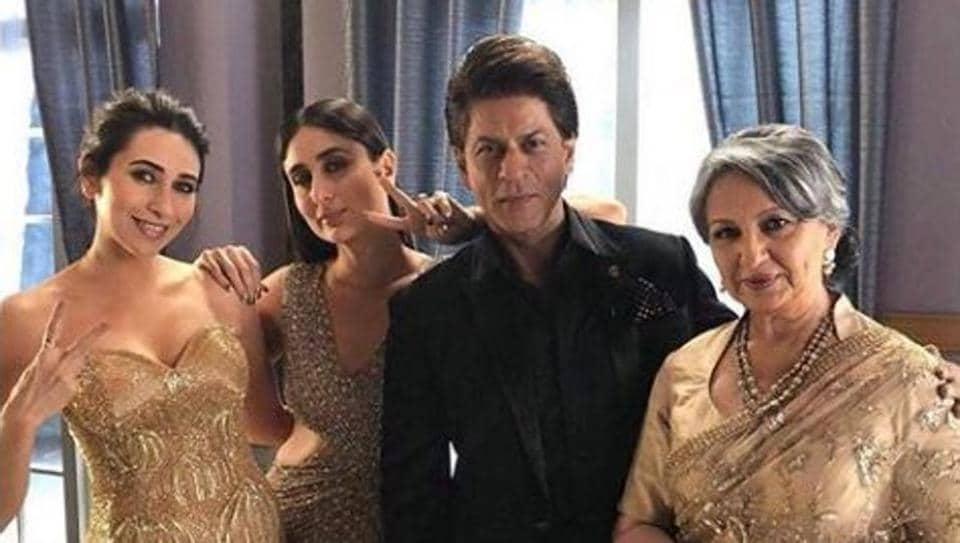 Shah Rukh Khan,Shah Rukh Khan pics,Sharmila Tagore