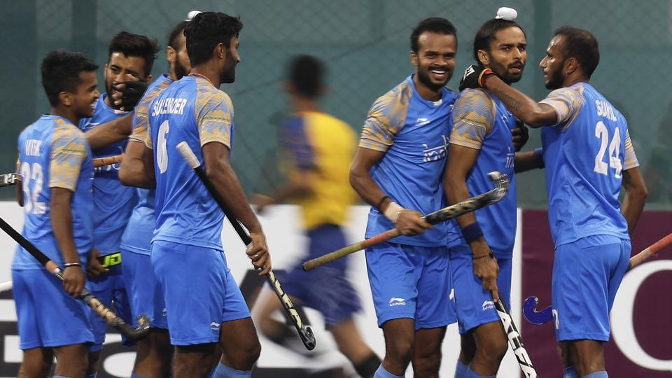 India took the lead in the match against Pakistan in third minute through Akashdeep Singh.