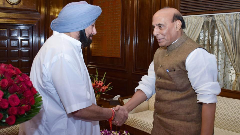 Punjab chief minister Captain Amarinder Singh,Union finance minister Arun Jaitley,food account
