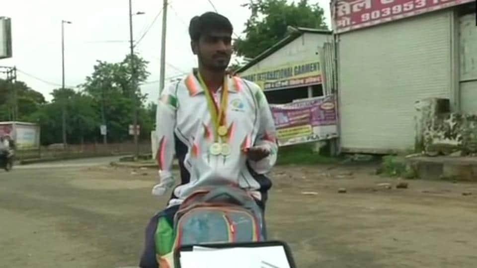 Manmohan Singh Lodhi,Paralympian,Sprinting