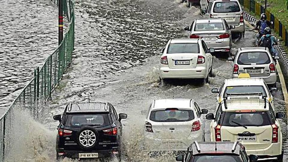 Rain,Waterlogging,Traffic woes