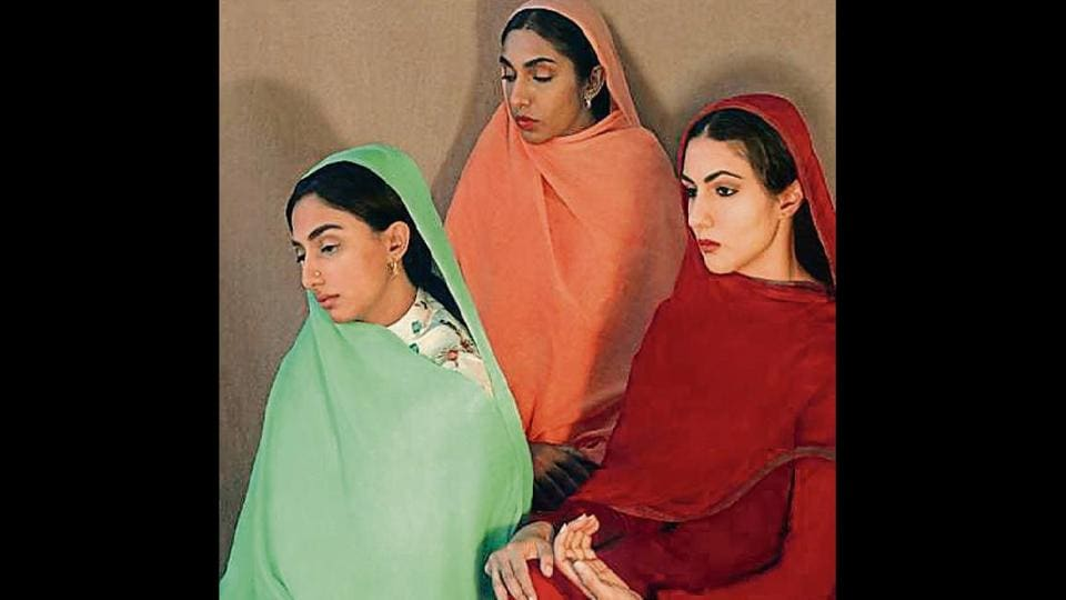 Rupi Kaur,Amrita Sher-Gil's,Amrita Sher-Gil's 'Group of Three Girls'