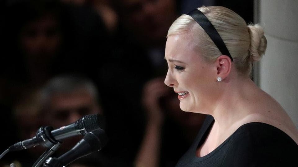 John McCain,John McCain's funeral,Meghan McCain