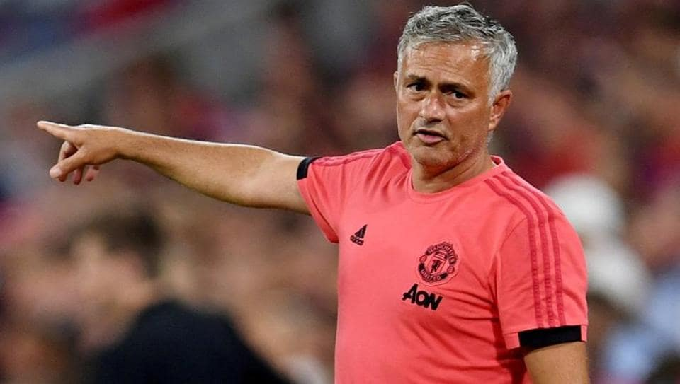 Soccer Football - Pre Season Friendly - Bayern Munich v Manchester United - Allianz Arena, Munich, Germany - August 5, 2018 Manchester United manager Jose Mourinho.