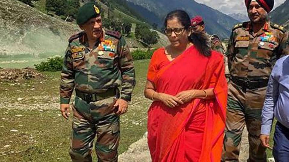 Nirmala Sitharaman,Bipin Rawat,Army Chief
