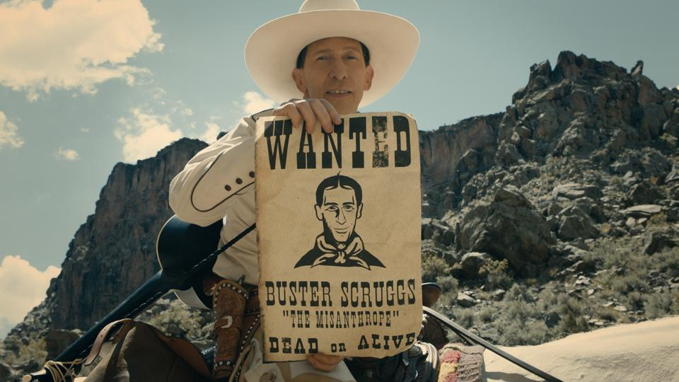 The Ballad of Buster Scruggs,Netflix,Coen brothers