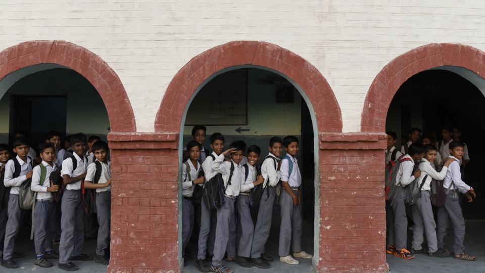 Roof collapse,Delhi govt school,GSTA