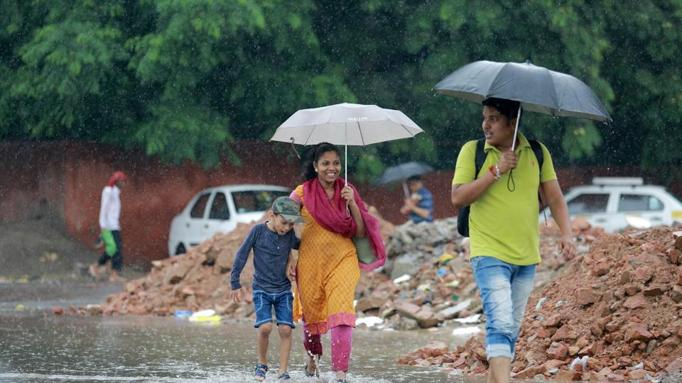 Delhi rains,Light rains in Delhi,Rain