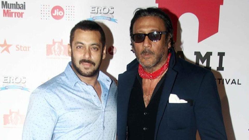 Jackie Shroff,Salman Khan,Bharat
