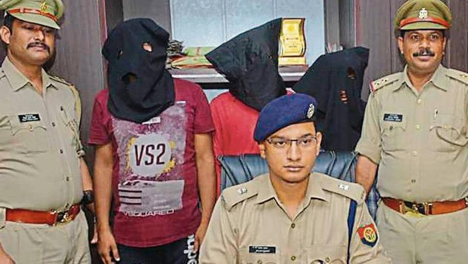 Snatchers' gang,Robbery,Ghaziabad Police