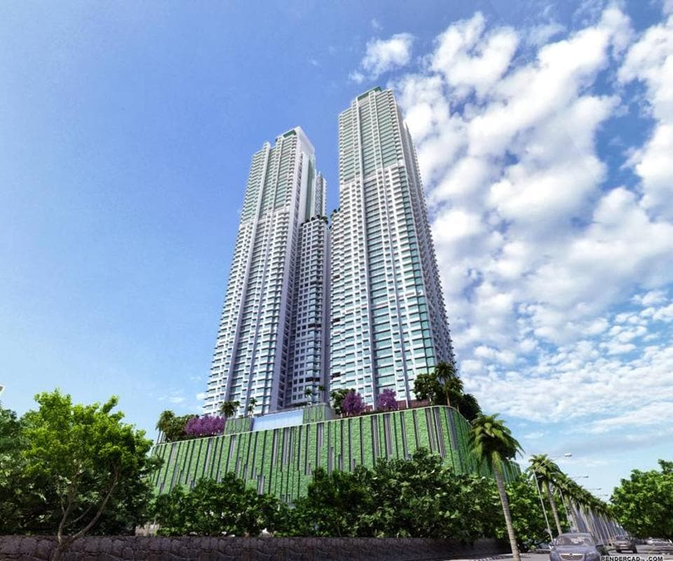 Adani and Marathon Realty's twin towers, Monte South, will be 60 storeys high. They excavated mechanically, up to more than 12 metres in depth, until they hit the hard basalt rock ideal for the foundation of such a project.