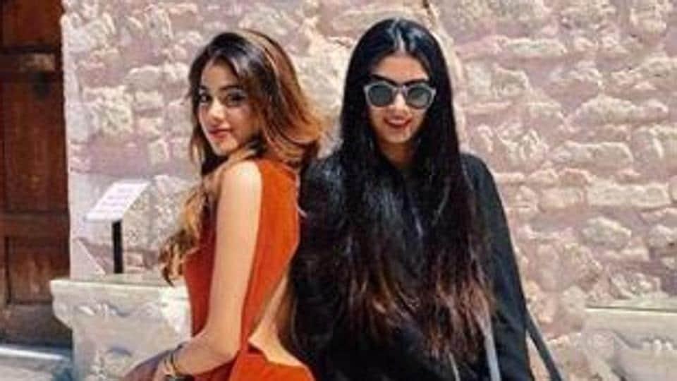 Janhvi Kapoor,Khushi Kapoor,Sridevi daughters