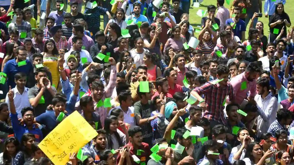 Pu polls,Panjab University,Chandigarh