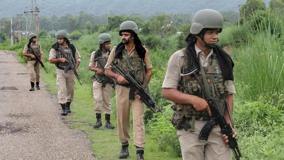 AK-47 rifles,Central Armed Police Forces,CRPF