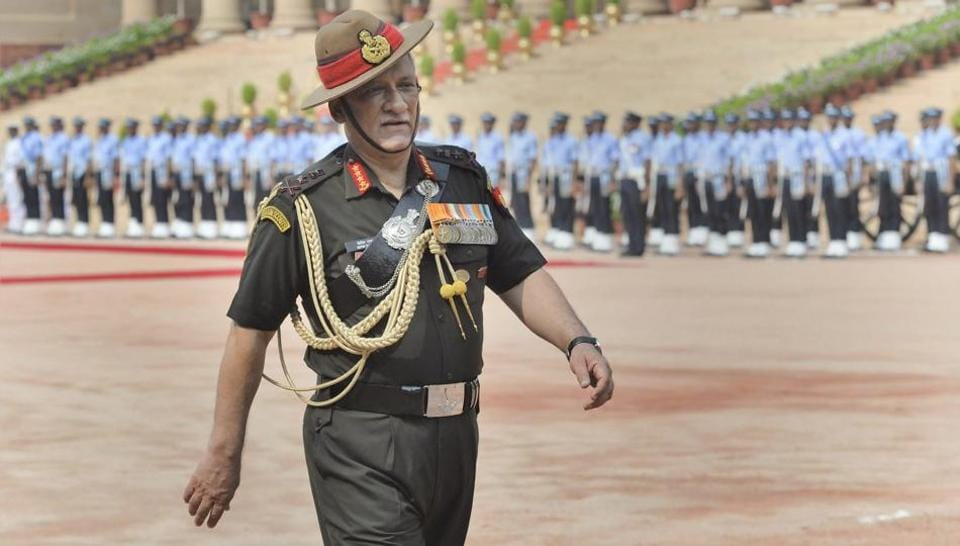 Indian army,Social media,General Bipin Rawat