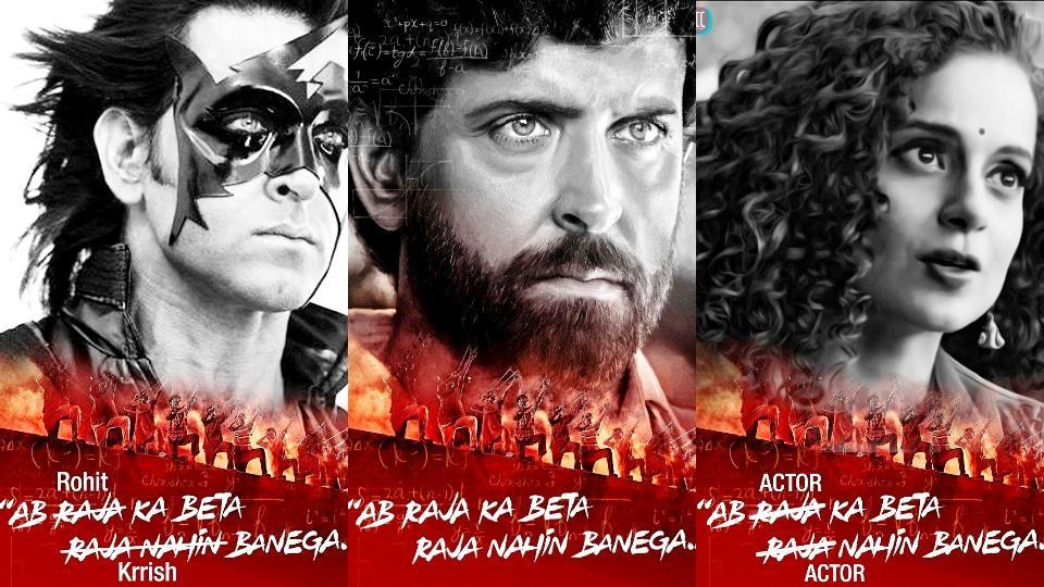 Hrithik Roshan's Super 30 poster (centre) is now a meme. Here are some of the most amusing ones we've seen so far.